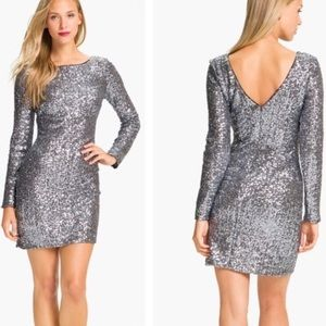 {Aidan Mattox} sequin dress